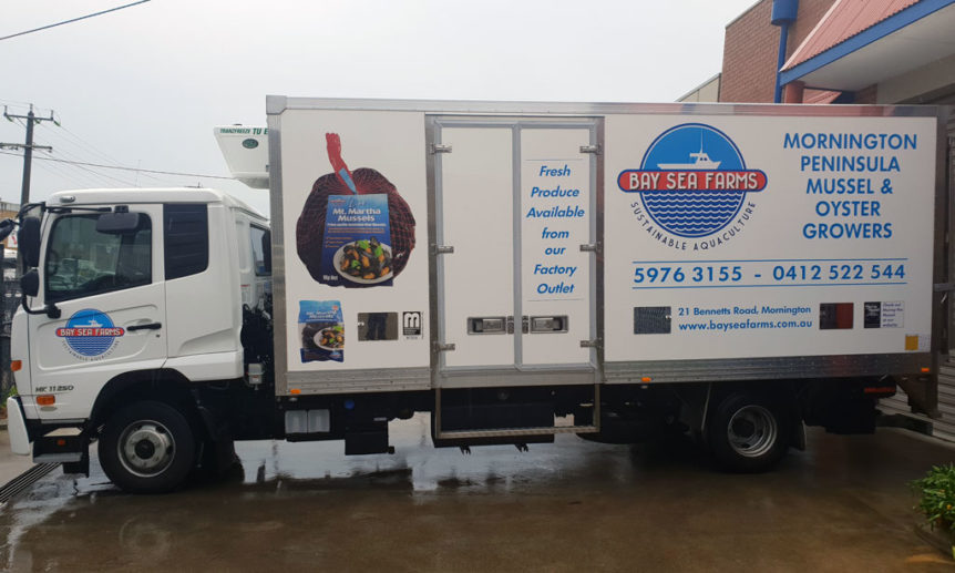 New refrigerated truck